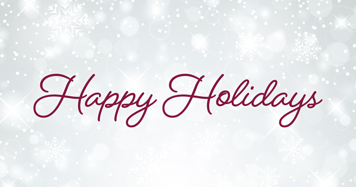 Happy Holidays from the Carbon Trace Crew